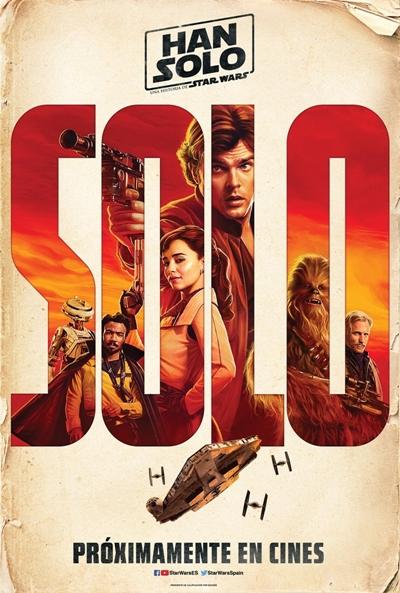 Han Solo, una historia de Star Wars (cartel)