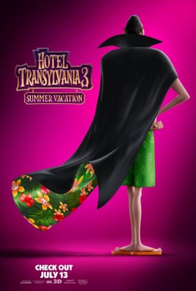 Hotel Transilvania 3: Unas vacaciones monstruosas (cartel)