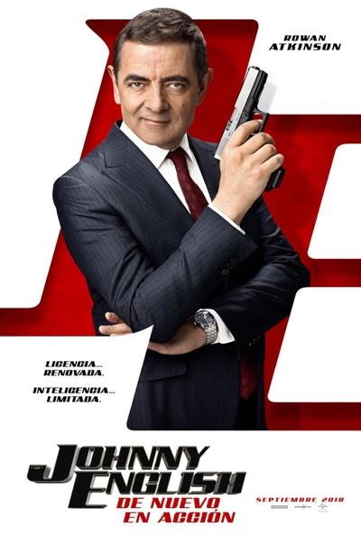 Johnny English: De nuevo en acción (cartel)