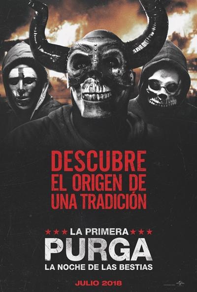 La primera purga: La noche de las bestias (cartel)