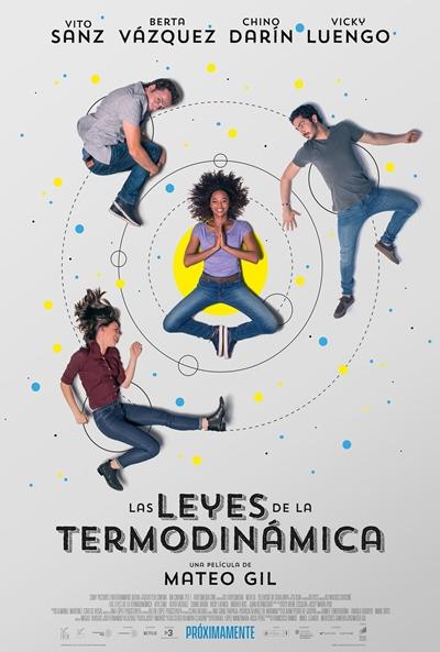 Las leyes de la termodinámica (cartel)