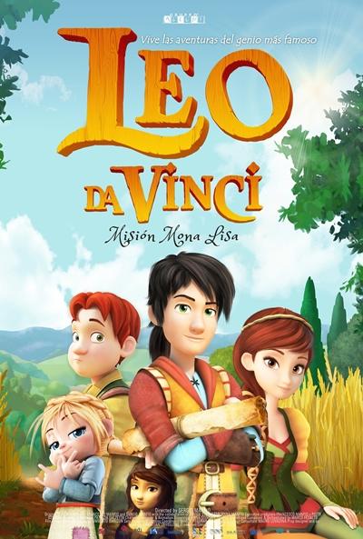Leo Da Vinci: Misión Mona Lisa (cartel)