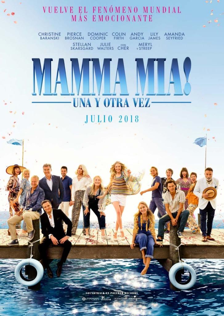 Mamma Mia: Una y otra vez (cartel)