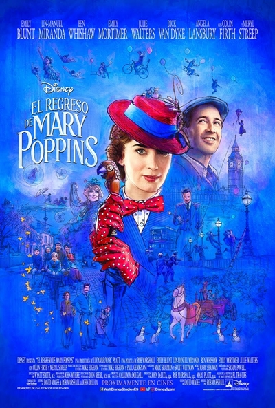 El regreso de Mary Poppins (cartel)