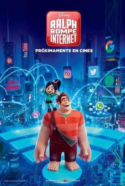 Ralph rompe Internet (cartel)
