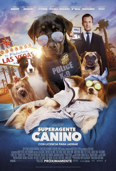 Superagente canino (cartel)