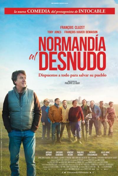 Normandía al desnudo (cartel)