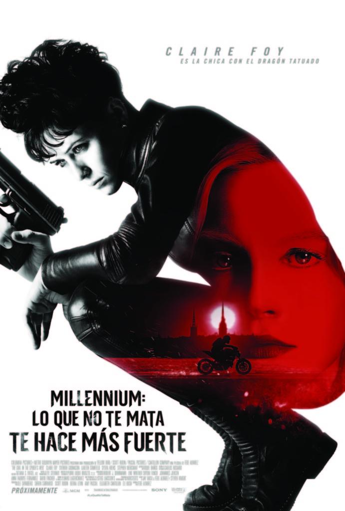 Millennium: Lo que no te mata te hace más fuerte (cartel)