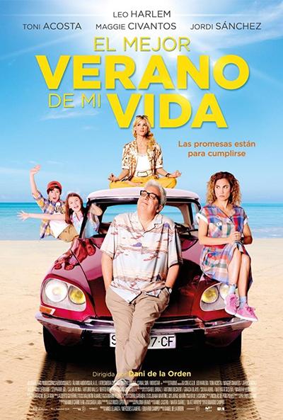 El mejor verano de mi vida (cartel)