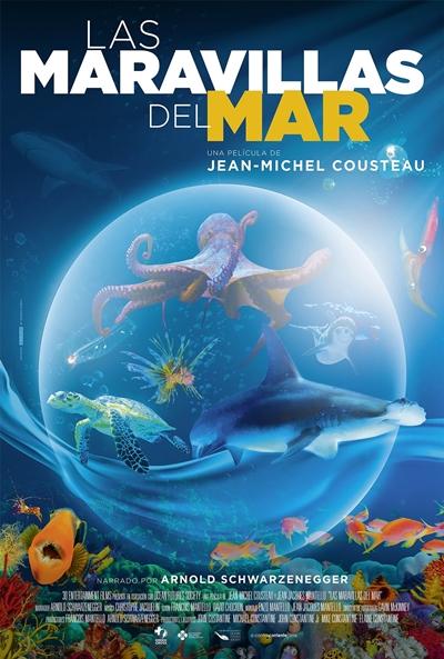 Las maravillas del mar (cartel)