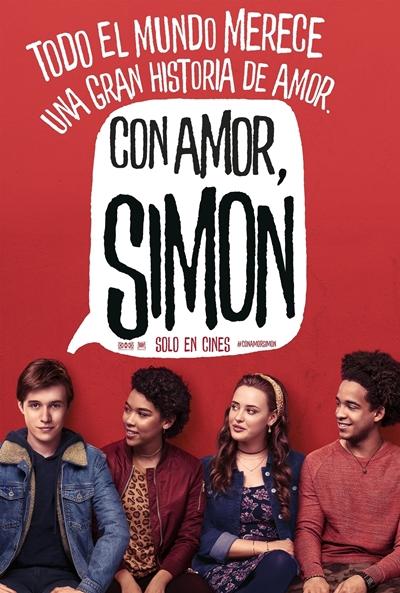 Con amor, Simon (cartel)