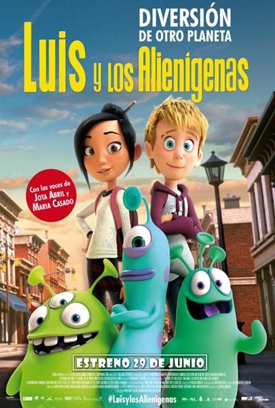 Luis y los alienígenas (cartel)