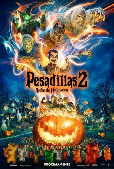 Pesadillas 2: Noche de Halloween (cartel)