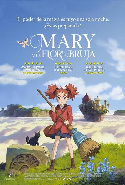 Mary y la flor de la bruja (cartel)
