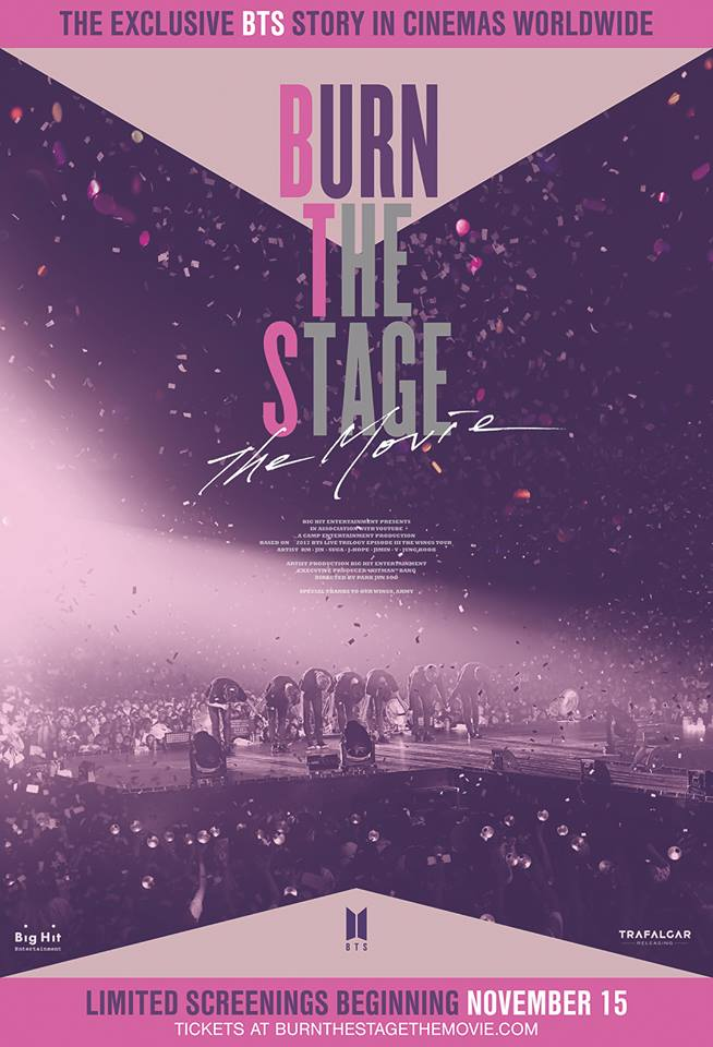 BURN THE STAGE THE MOVIE (cartel)
