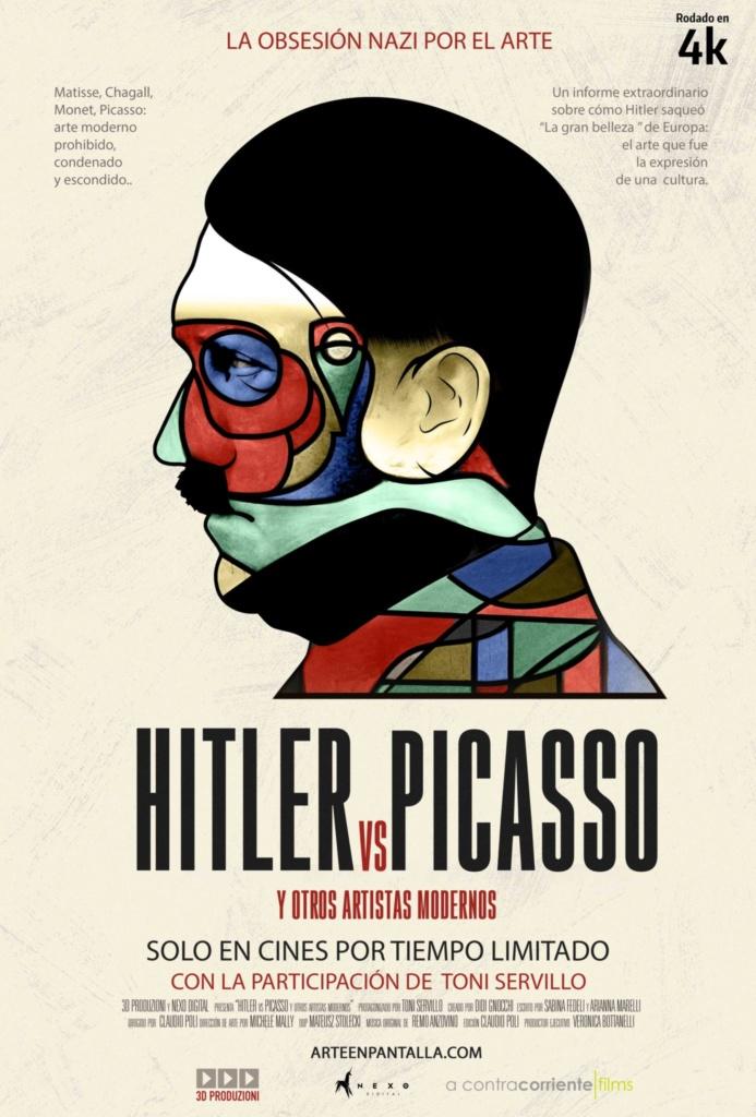 HITLER vs PICASSO (cartel)