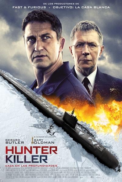 Hunter Killer. Caza en las profundidades (cartel)