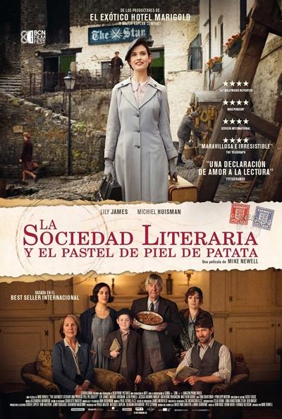 La sociedad literaria y el pastel de piel de patata (cartel)