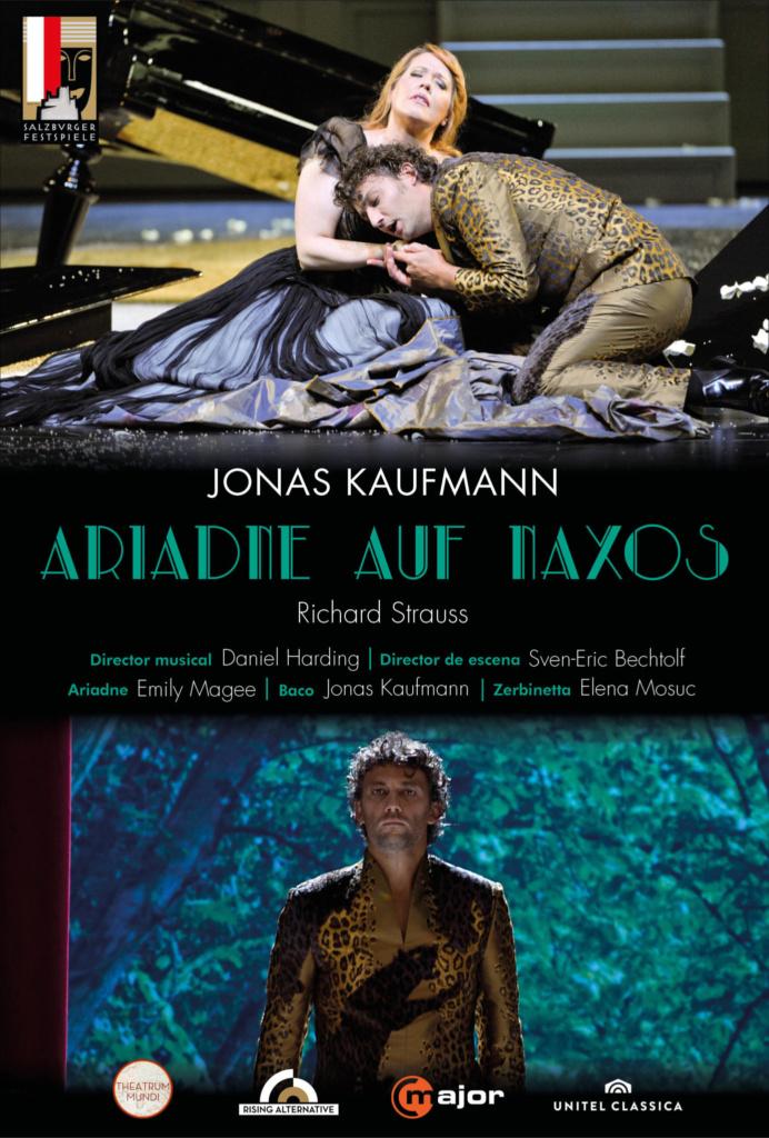 Ópera. ARIADNE AUF NAXOS (cartel)