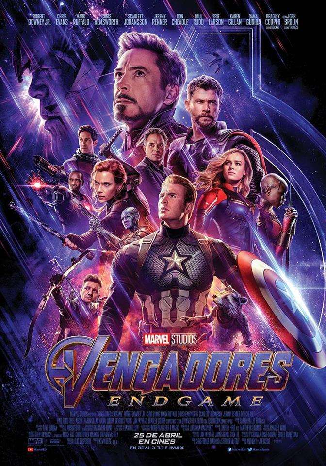 Vengadores: Endgame (cartel)
