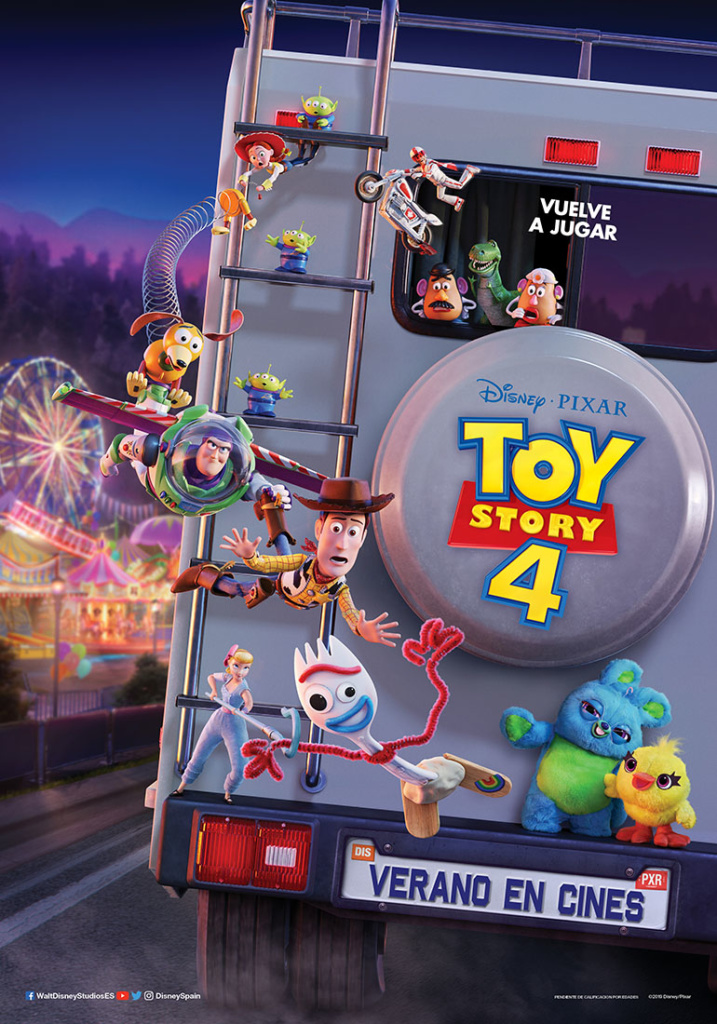 Toy Story 4 (cartel)