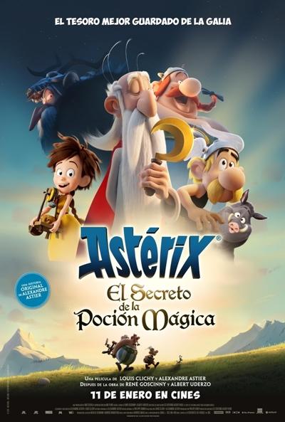 Astérix: El secreto de la poción mágica (cartel)