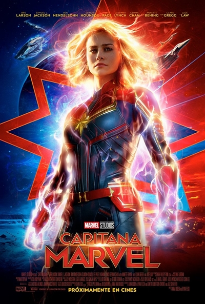 Capitana Marvel (cartel)