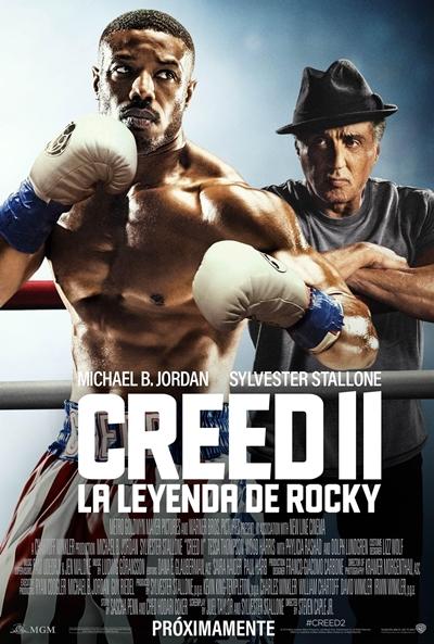 Creed II: La leyenda de Rocky (cartel)
