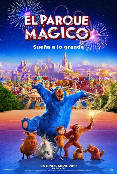 El parque mágico (cartel)
