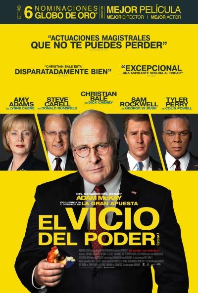 El vicio del poder (cartel)
