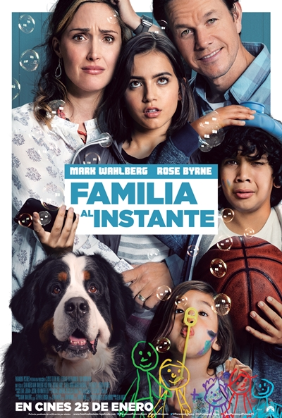 Familia al instante (cartel)