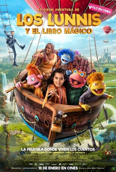 La gran aventura de los Lunnis y el libro mágico (cartel)