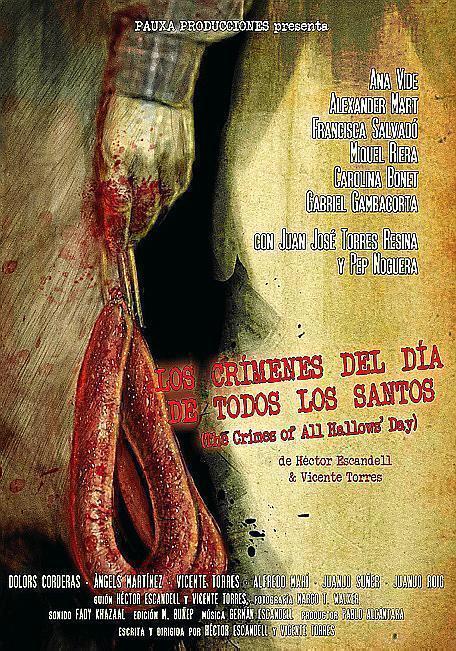 Los crímenes del día de Todos los Santos (cartel)