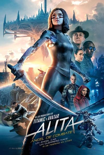 Alita: Ángel de combate (cartel)