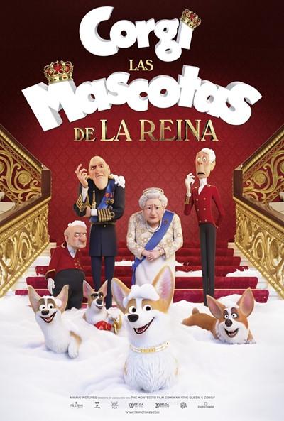 Corgi: Las mascotas de la reina (cartel)