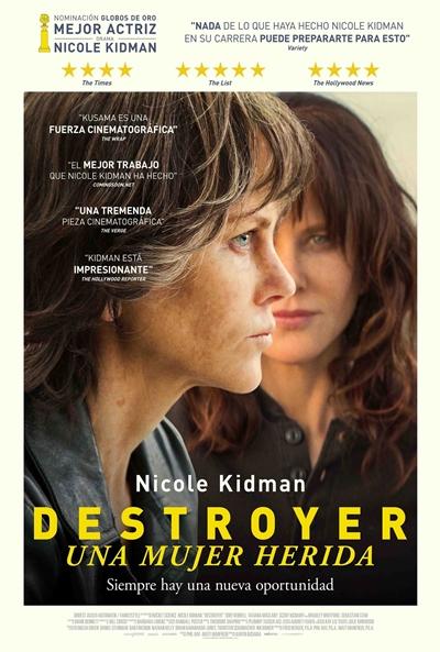 Destroyer. Una mujer herida (cartel)