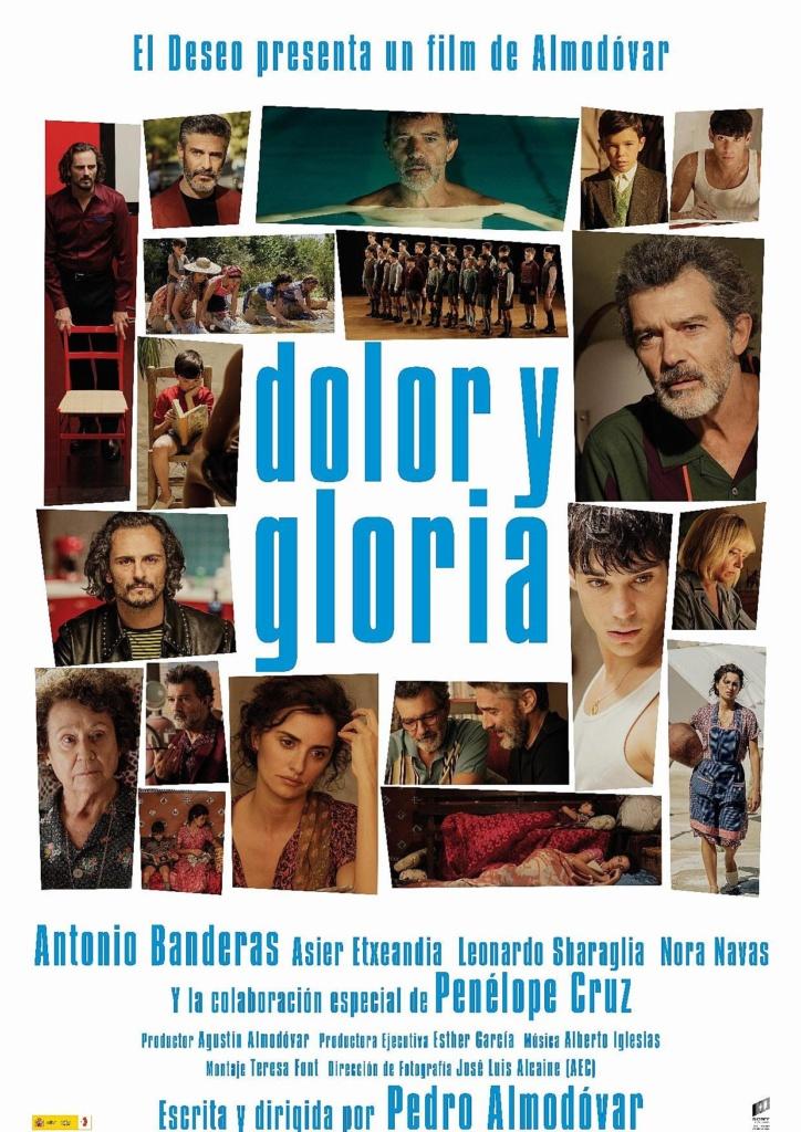 Dolor y gloria (cartel)