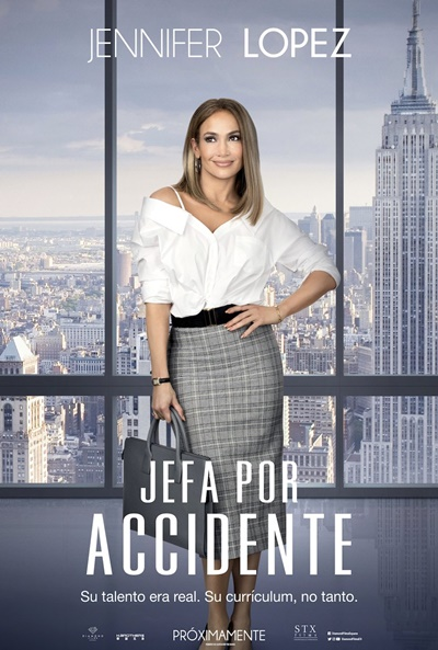 Jefa por accidente (cartel)