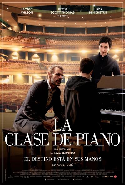 La clase de piano (cartel)