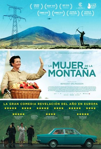 La mujer de la montaña (cartel)