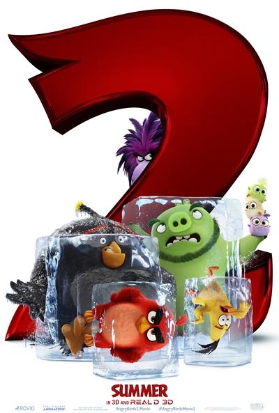 The Angry Birds 2 La película (cartel)