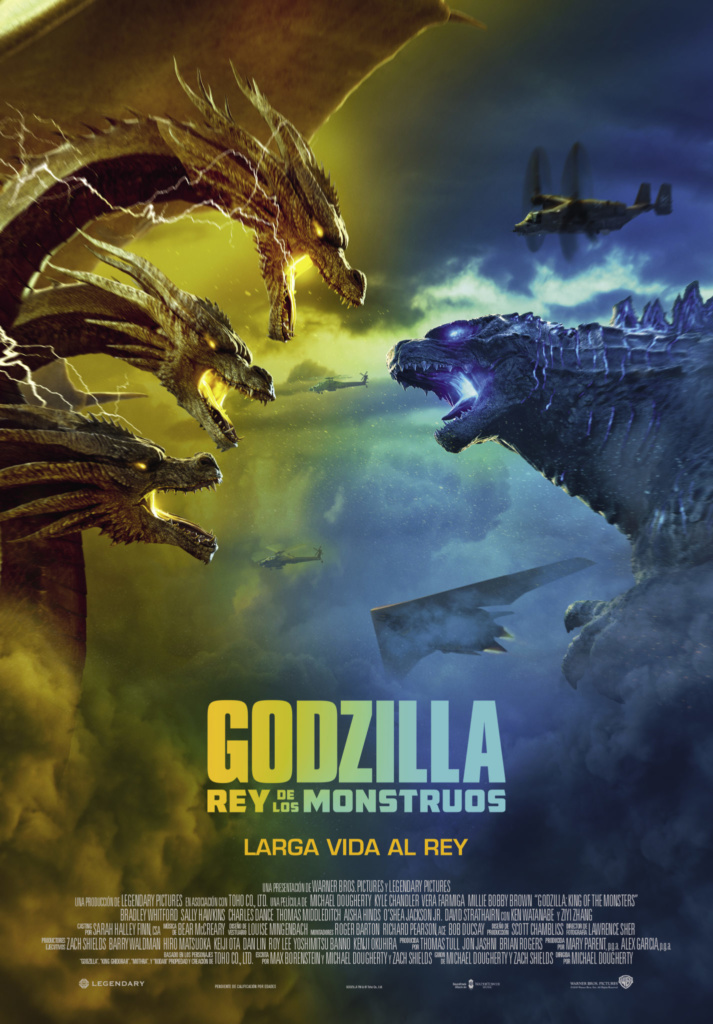 Godzilla: Rey de los monstruos (cartel)