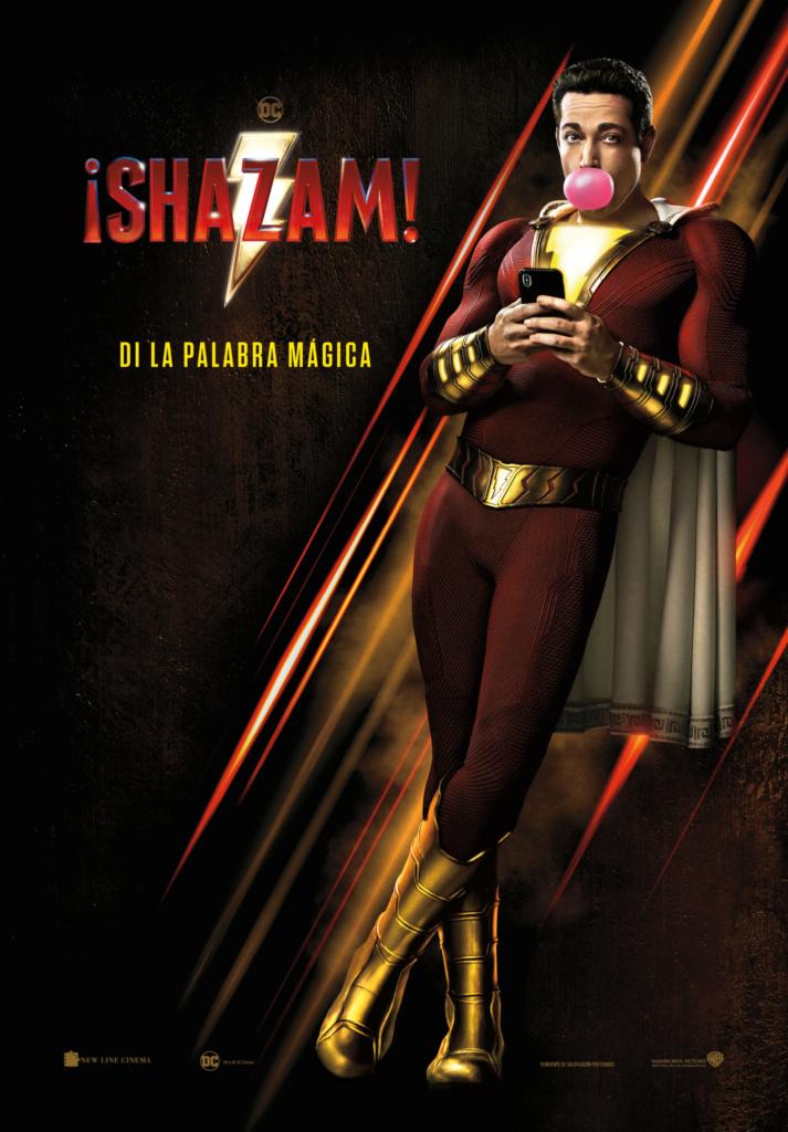 ¡Shazam! (cartel)