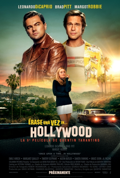 Érase una vez en Hollywood (cartel)