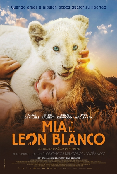 Mia y el león blanco (cartel)