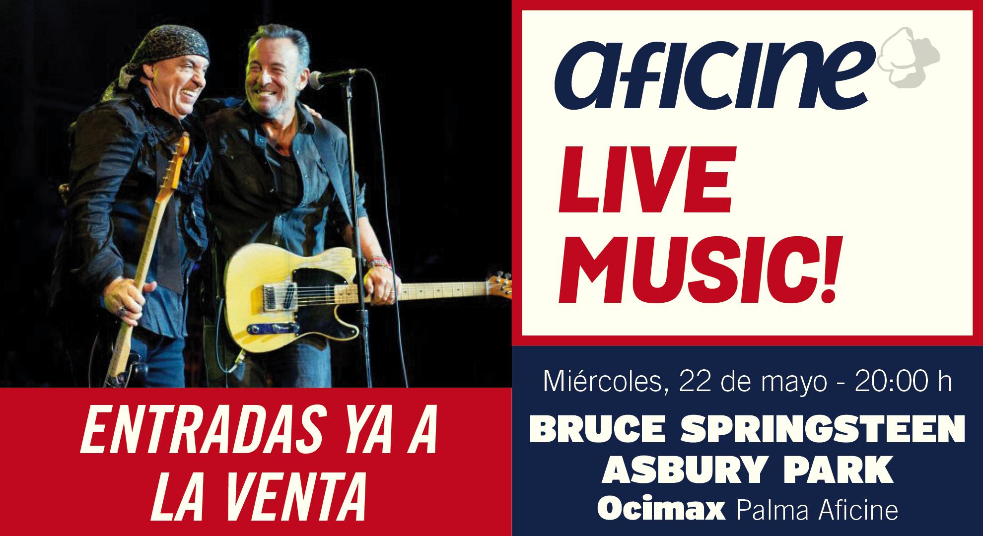 Bruce Springsteen en Asbury park<br>ESTRENO MUNDIAL