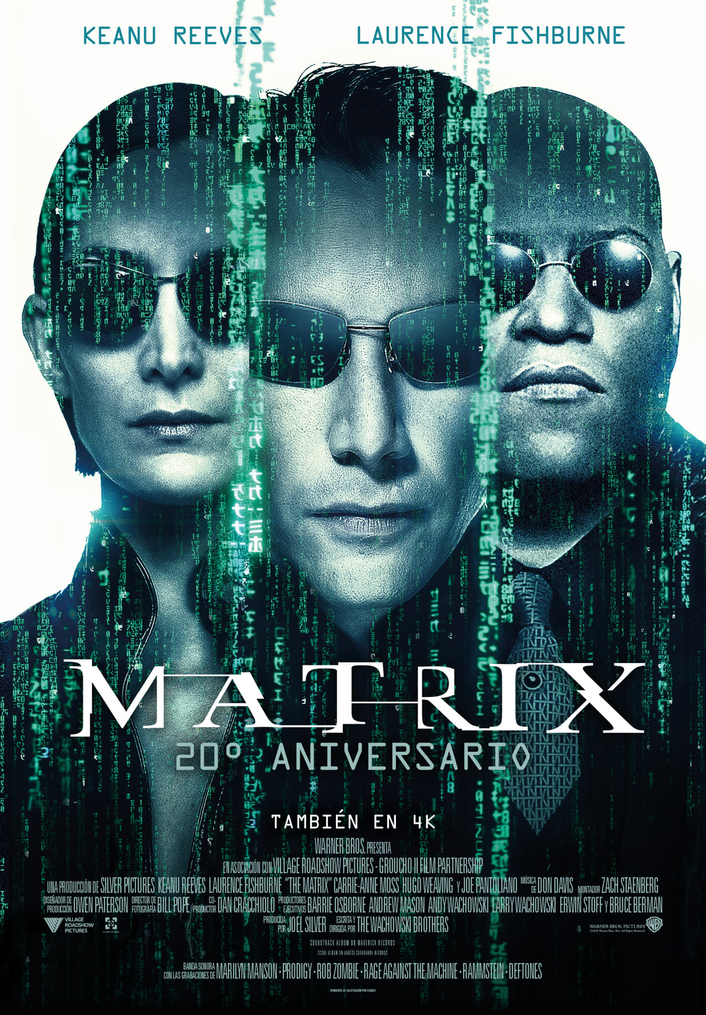 """THE MATRIX"". 20th ANIVERSARIO"