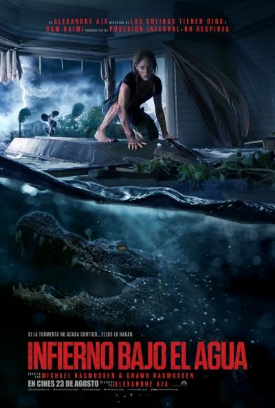 Infierno bajo el agua (cartel)