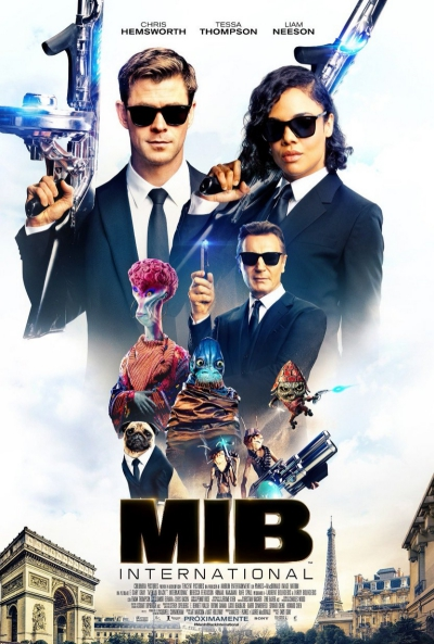 Men in Black International (cartel)