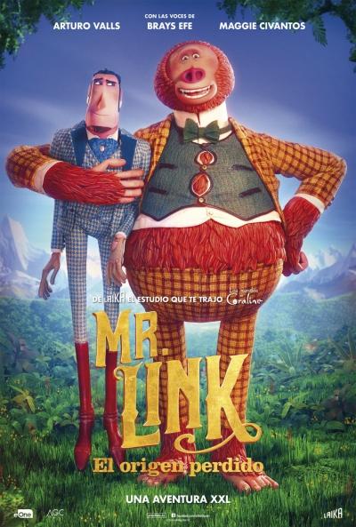 Mr. Link. El origen perdido (cartel)